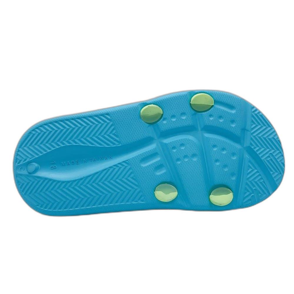台灣製POLI救援小隊拖鞋-湖水綠