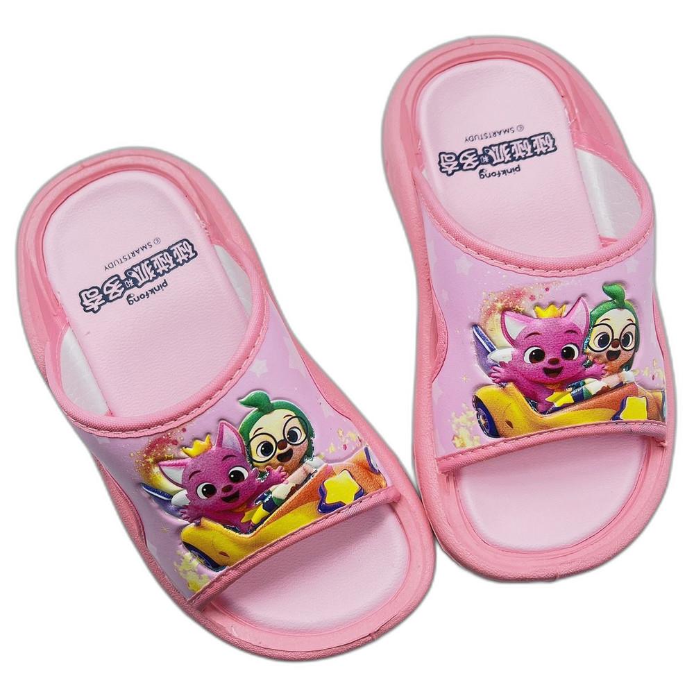 P065-台灣製碰碰狐拖鞋-粉色