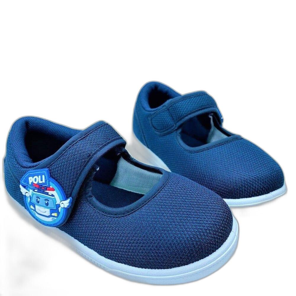 童鞋 台灣製POLI休閒鞋-藍色