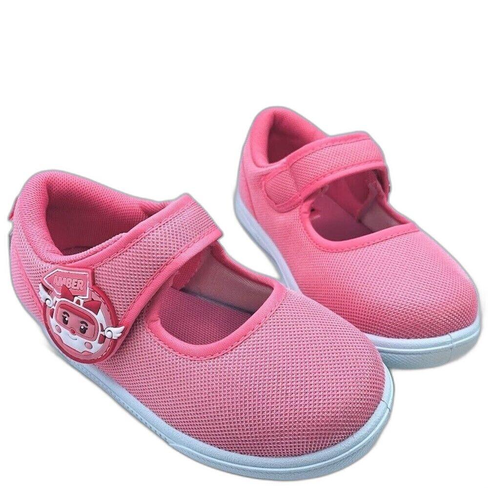 童鞋 台灣製POLI安寶休閒鞋-粉紅