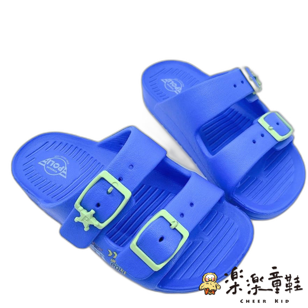 P067-台灣製POLI波力拖鞋