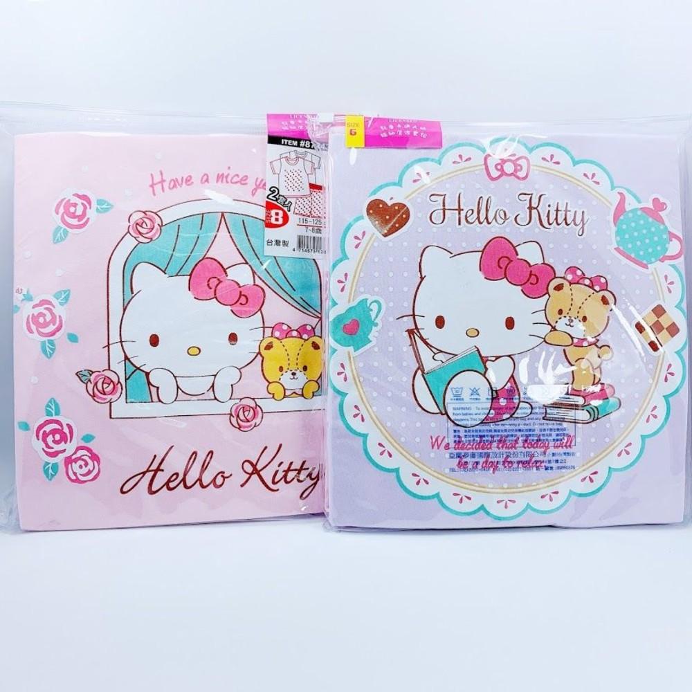 Q001 - 台灣製Hello Kitty短袖居家套裝(2套入)