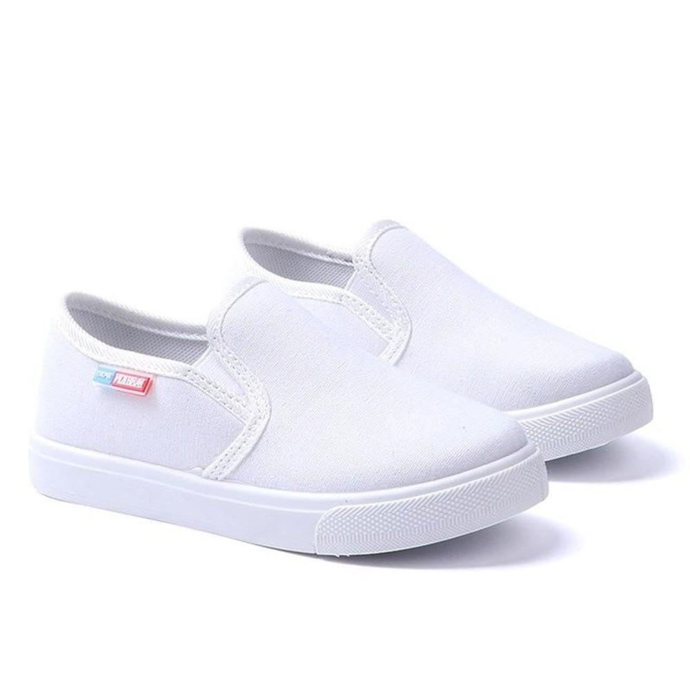 四色兒童帆布鞋