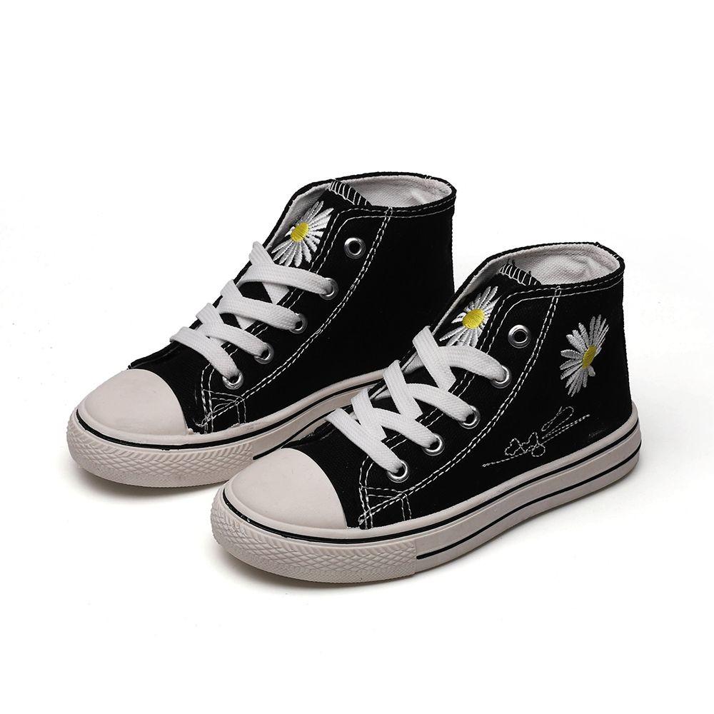 S962-繡花帆布鞋