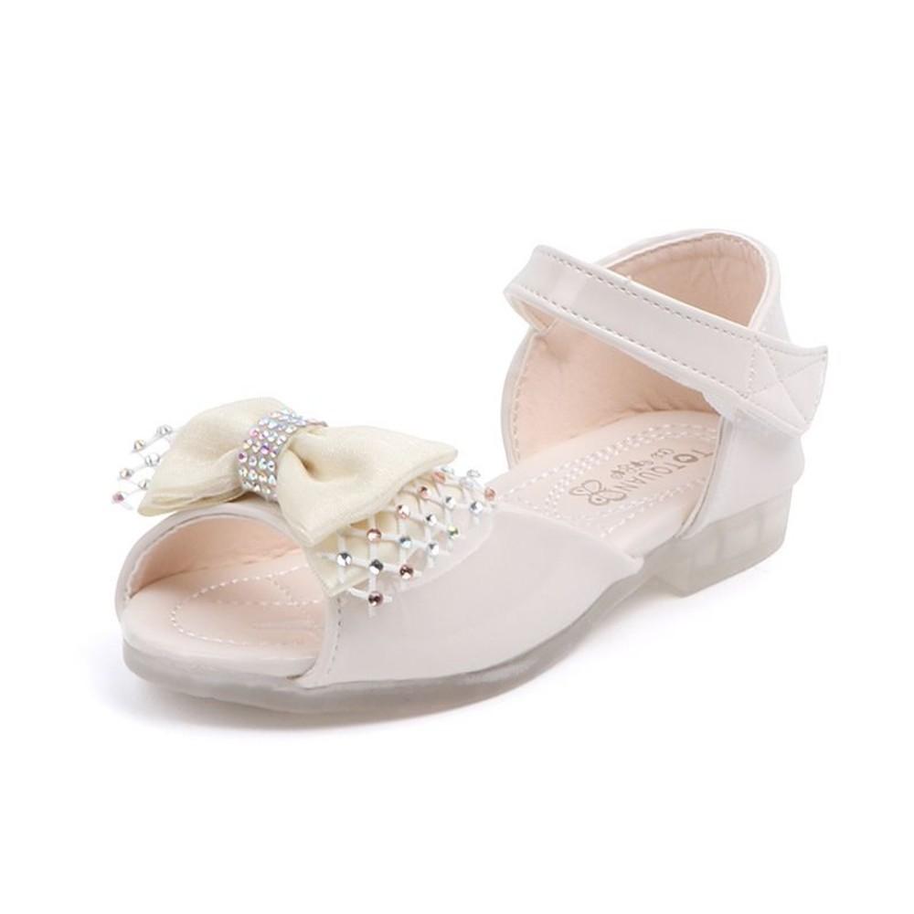 S969-甜美蝴蝶結涼鞋