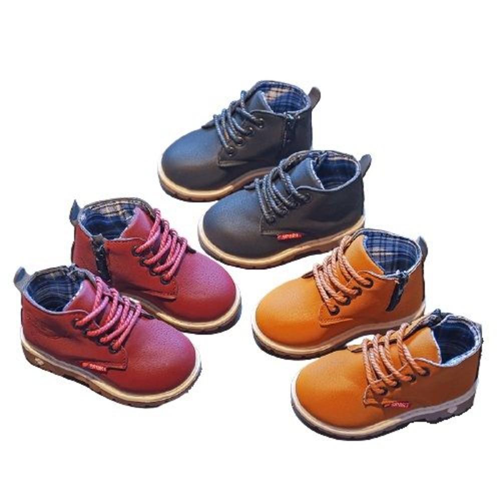 童鞋 帥氣百搭皮靴