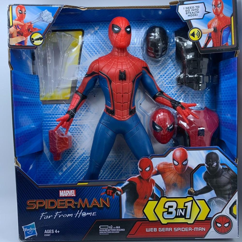 T016 - 復仇者聯盟三合一蜘蛛人公仔(有聲版)