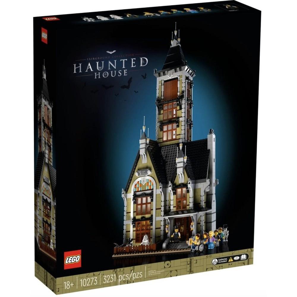 lego-10273 - LEGO 10273 -  樂高 Creator 系列遊樂場鬼屋 Haunted House